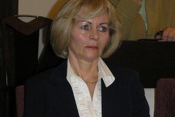 Zita Kozlerová. Do funkcie nastúpila po svojom predchodcovi Františkovi Tkáčovi minulý rok.