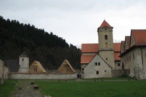 Areál kartuziánskeho kláštora.