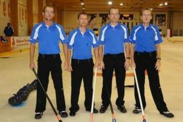Slovenskí curlingoví reprezentanti.