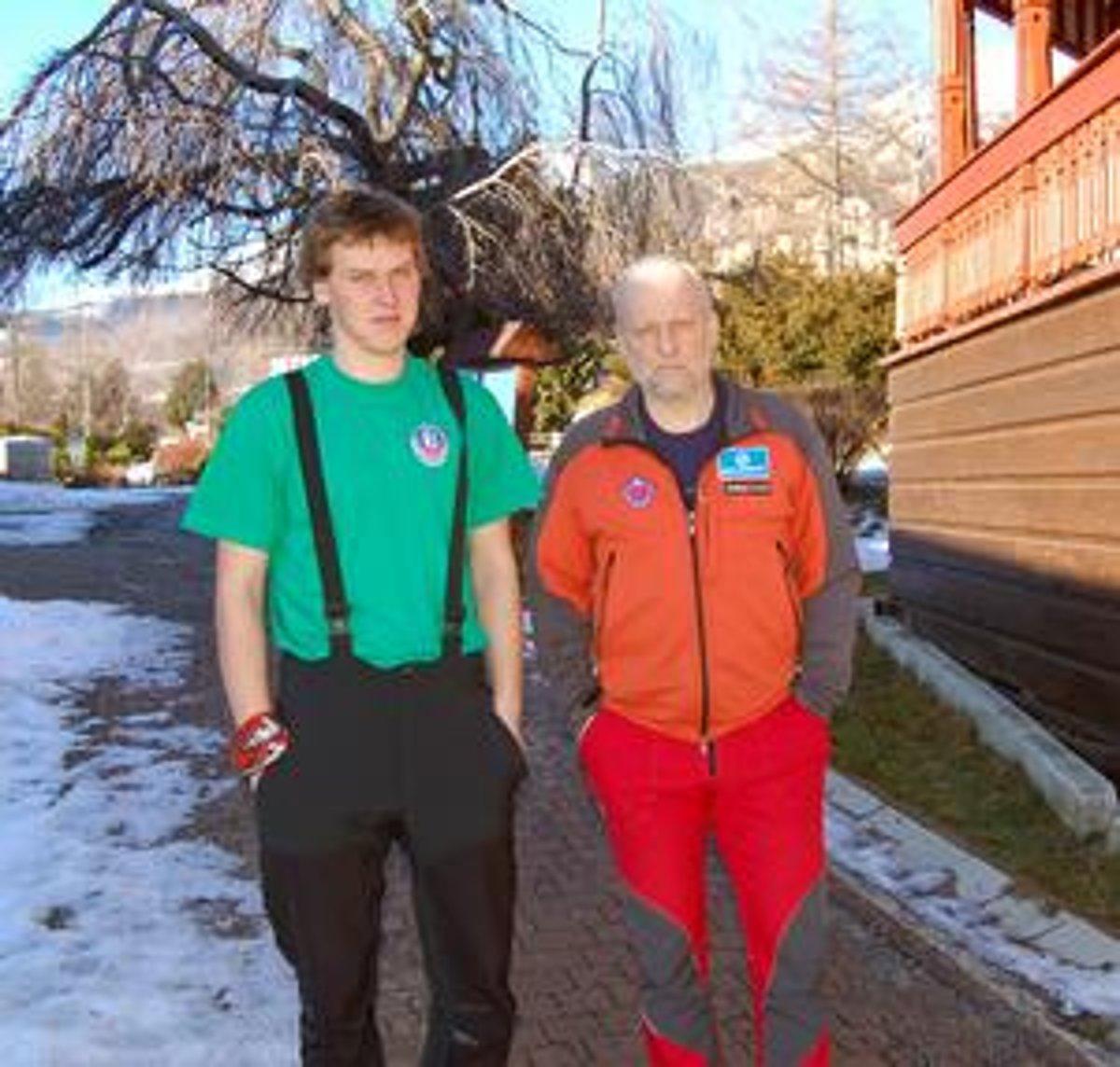 Najstarší s najmladším. Akcie sa z tatranskej čaty HZS zúčastnil najmladší  záchranár Lukáš (24 da41e3c2720