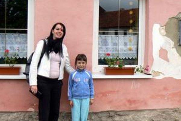 Veronika Ferková s neterou Jessicou.