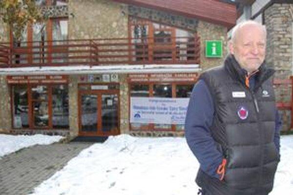Peter Šperka, horský záchranár a horolezec.