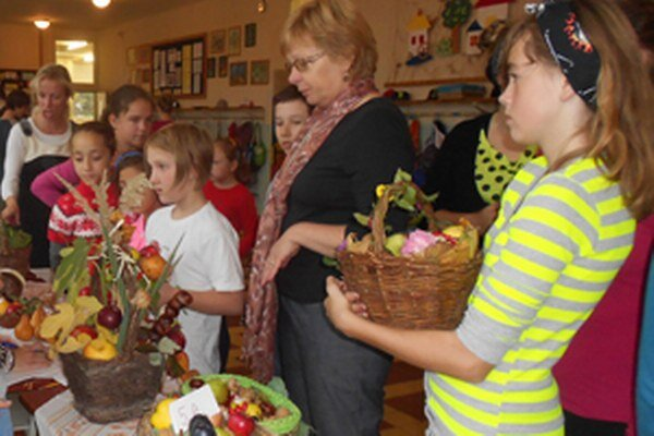 Výstava ponúkla rôzne druhy ovocia a zeleniny.