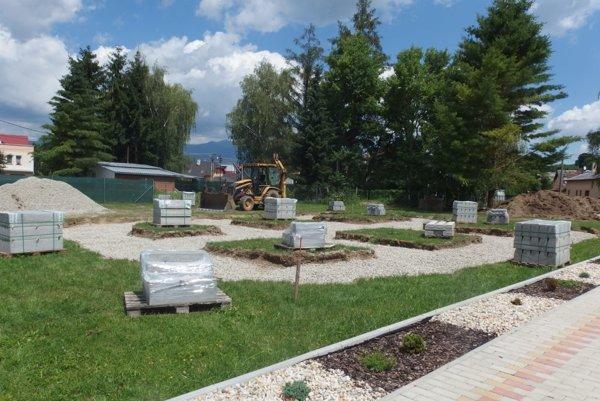 V Dražkovciach sa pripravujú na stavbu dopravného ihriska.