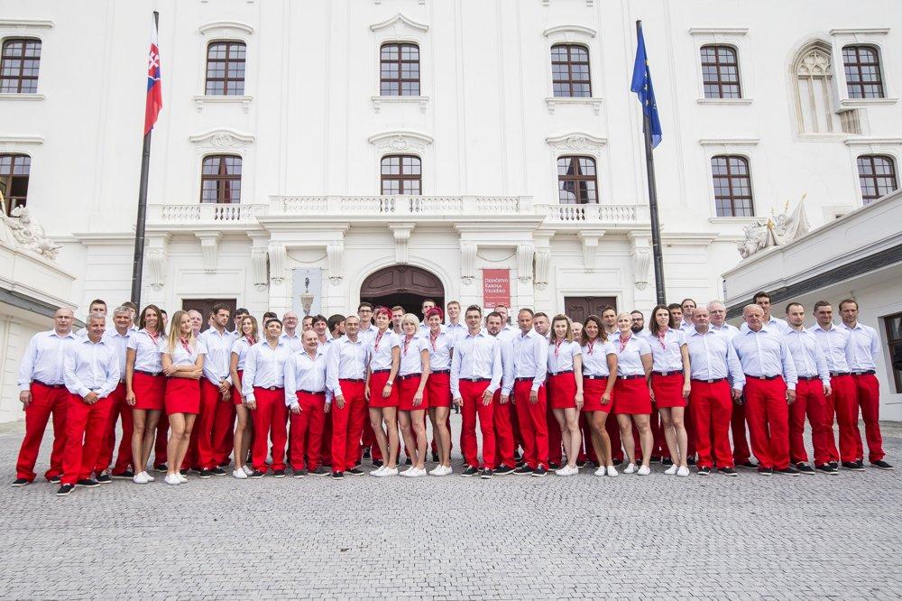 Slovenskí olympionici.