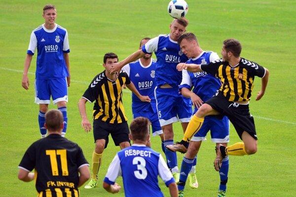 Futbalisti Šale v sobotu doma prehrali s Interom 1:3.