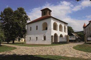 Hradná kaplnka Budatínskeho hradu po rekonštrukcii.