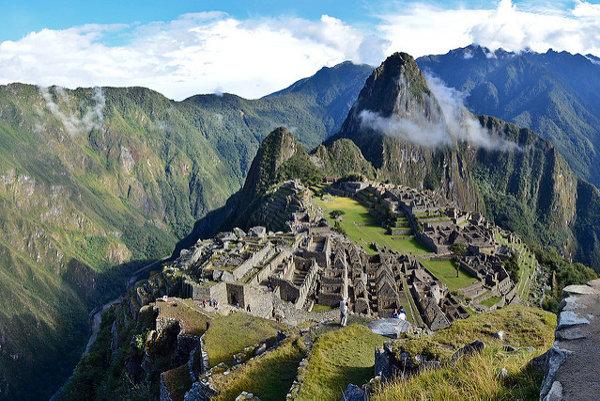 Machu Picchu bolo v čase objavenia zarastené tropickou vegetáciou.