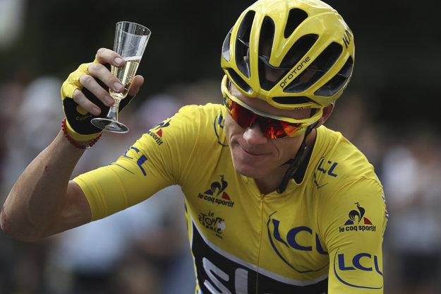 Christopher Froome tento rok tretí raz v kariére ovládol Tour de France.
