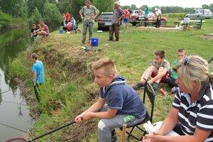 Detské rybárske preteky sa konali desiaty raz.
