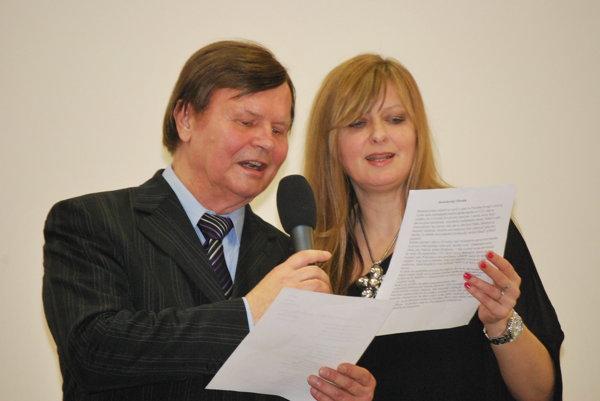 Speváčka Miriam Klimentová vystupovala aj s Dušanom Grúňom.