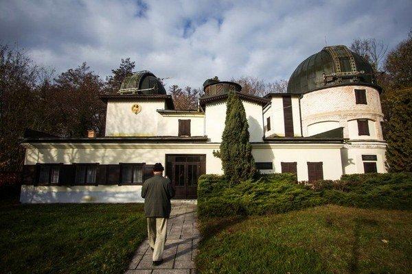 Hvezdáreň v Hurbanove.