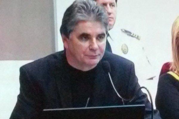 Mestský kontrolór na dnešnom rokovaní mestského zastupiteľstva.