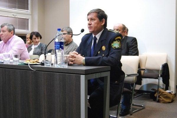 Jozef Tököly na zastupiteľstve, ktoré sa konalo 4. 3. 2015