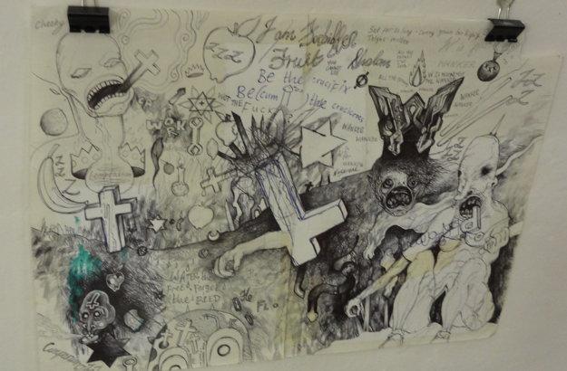 Jamesove kresby.