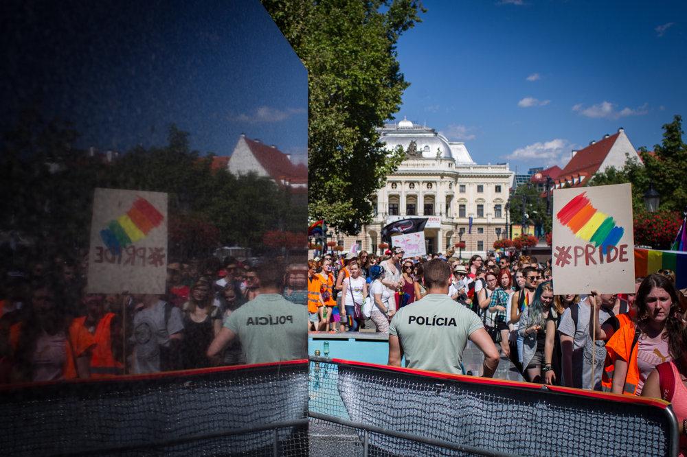 Do ulíc Bratislavy sa dúhový pochod vrátil po ročnej prestávke.