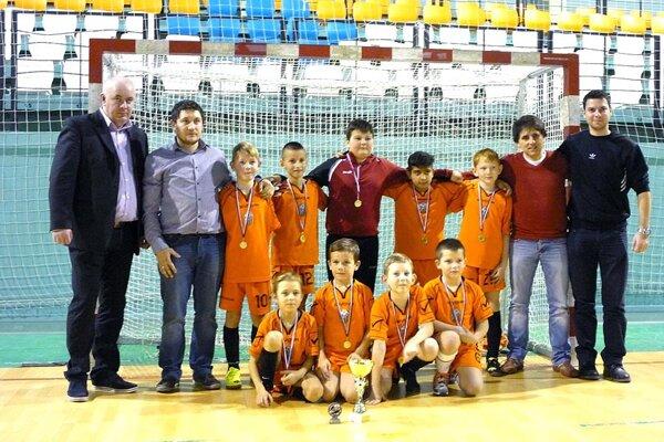 V prvom ročníku halového turnaja Miniligy Stocha v januári 2015 triumfovali nádeje Hájskeho.