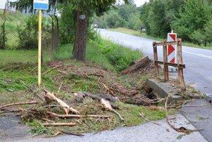 Škody po prietrži mračien sú v Beňuši značné.