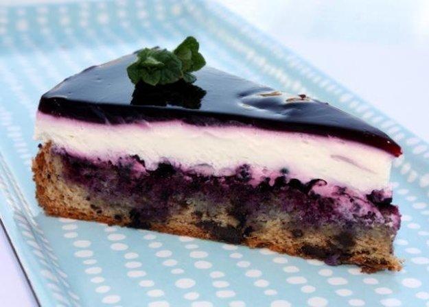 Čučoriedková torta