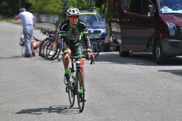 Patrik Tybor bude namiesto Sagana súťažiť v cestnej cyklistike.