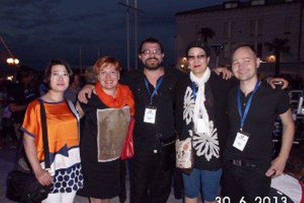 Roman Turcel (vpravo) bol jediným zástupcom Slovenska.