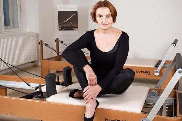 Herečka Eva Holubová.