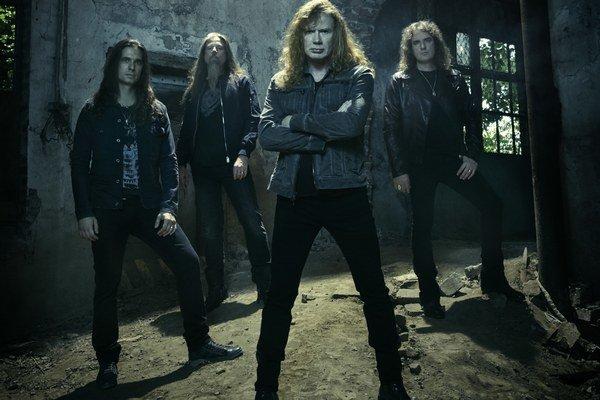 Megadeth. V aktuálnej zostave.