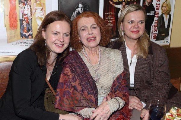 Theodora, Iva, Sabina. Vydarené dcéry sú herečkina pýcha.