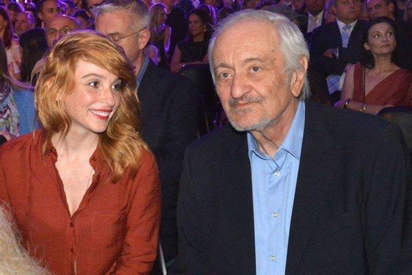 Vica Kerekes a Milan Lasica. Herečku na porotcovanie presvedčil až prezident festivalu.