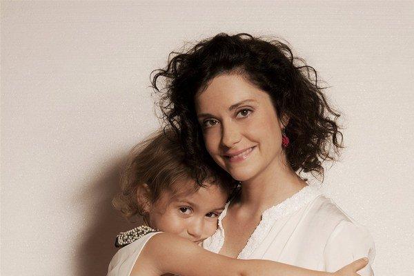 Lucia s Rebecou. Svoje deti miluje, ale priznáva, že niekedy je to s nimi náročné.