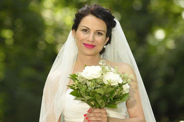 Pani Vaculíková. Kristína sa v sobotu vydala za otca svojho syna.