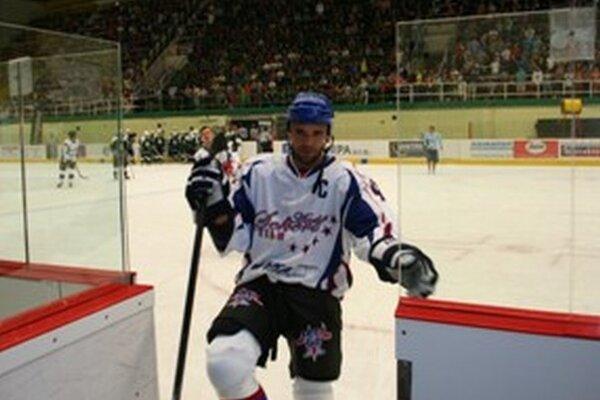 V exhibičnom zápase zdolal výber Andreja Sekeru MšHK Bulldogs Prievidza.