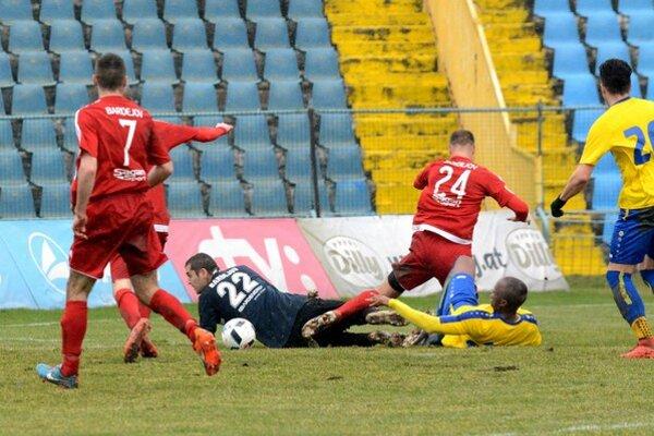 Druhý gól Košičanov.
