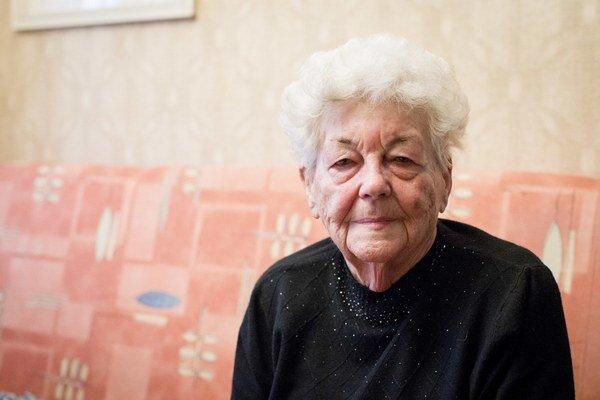 Hilda Múdra. Legendárna trénerka oslávila deväťdesiatku. Foto: archív
