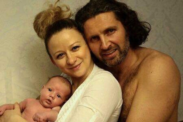 René Štúr s rodinou. Amelie je mix oboch rodičov.