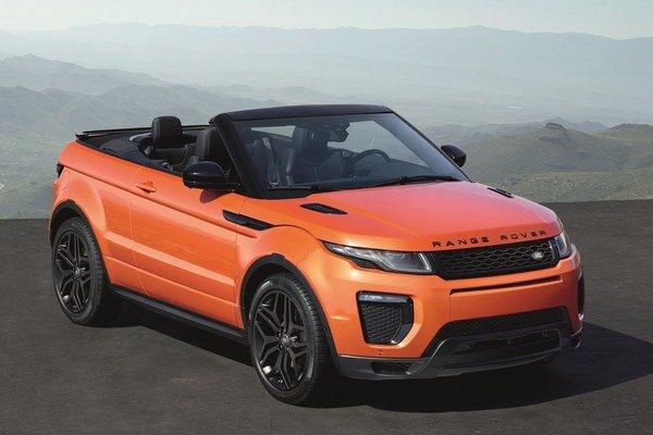 Kabriolet Range Rover Evoque. Nový kabriolet má svetovú premiéru na dnes otvorenom medzinárodnom autosalóne v kalifornskom Los Angeles.