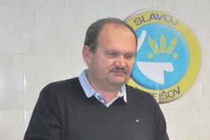 Exprezident Miroslav Eliáš. V Slavoji skončil po necelých siedmich rokoch.