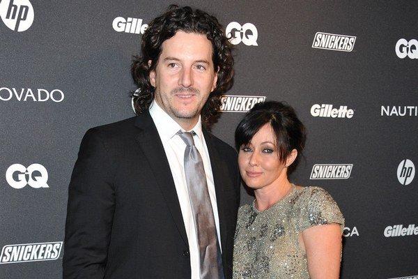 Shannen s manželom Kurtom. Seriálovú Brendu zrejme čaká mastektómia.