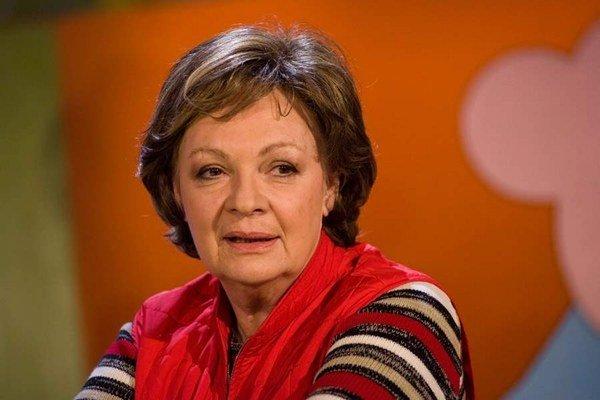 Obľúbená herečka. Jana Hlaváčová už prestala aj rozprávať.