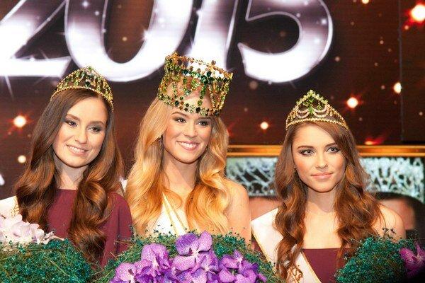 Tri najkrajšie. Lujza je prvá, Barbora druhá a Petra tretia.