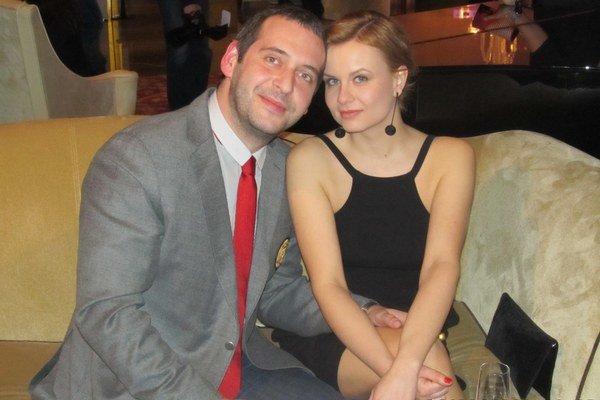 S manželkou Katkou.