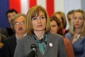 Kandidátkou pravice v Prešove je Andrea Turčanová.