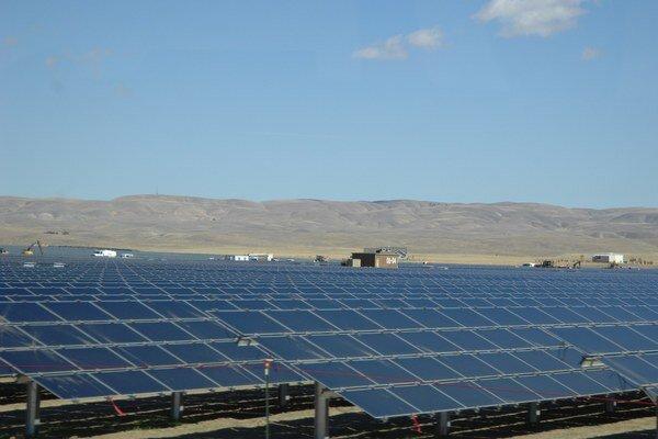 Najvýkonnejšia solárna elektráreň.