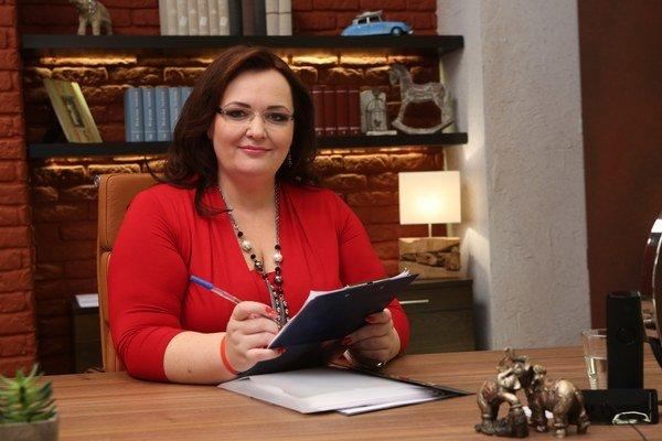 Renáta Názlerová zo svojej rodiny urobila malú firmu.