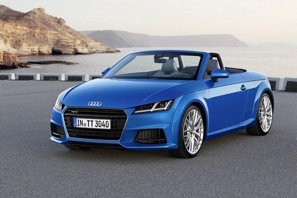 Nový roadster Audi TT. Roadster, ktorý je technicky zhodný s kupé TT, má svetovú premiéru na autosalóne v Paríži.