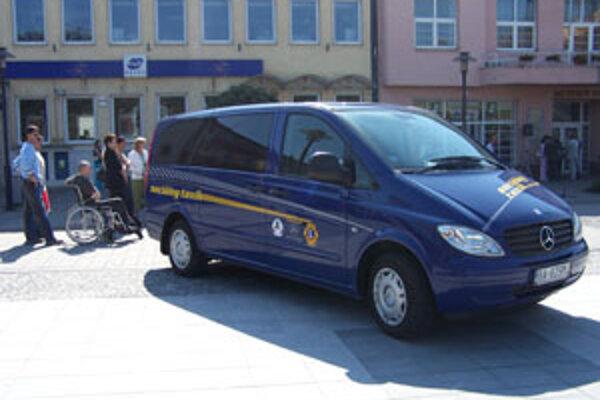 Sociálny taxík má za minulý rok na konte 2912 jázd.