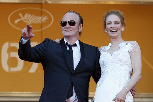 Quentin Tarantino a Uma Thurman.