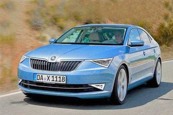 Štúdia Škoda Octavia Coupé. Štvordverové kupé Octavia naznačuje, akým smerom by sa mohol vyvíjať dizajn škodoviek v budúcnosti.