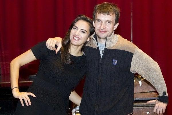 Jana Kirschner a Eddie Stevens. Dvojica si rozumie nielen v hudbe, ale ja v súkromí.