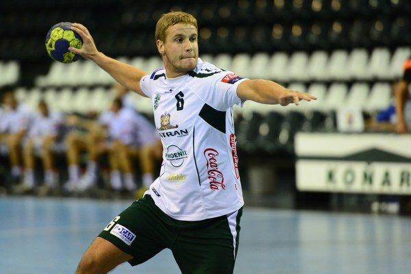 Jakub Hrstka bol v oboch zápasoch najlepším strelcom Prešova.